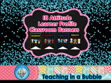 IB PYP Learner Profile & Attitude Classroom Display Banners