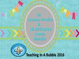 IB  PYP Learner Profile & Attitude Crown Bundle