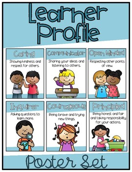 IB PYP Learner Profile (Attributes) Poster Set