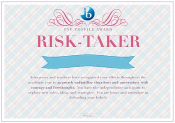 IB PYP Learner Profile Awards