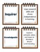 IB PYP Learner Profile Cards 2 sets