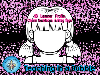 IB PYP Learner Profile Brag Tags/Necklace Charms