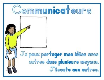 IB PYP Learner Profile - French