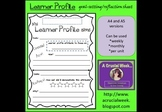 IB PYP Learner Profile Goal-setting / Reflection Sheet