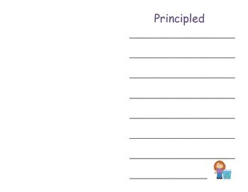 IB PYP Learner Profile Journal