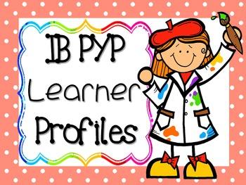 IB PYP Learner Profile - MULTICOLOUR POLKA DOT
