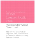 IB PYP Learner Profile Planner Pack
