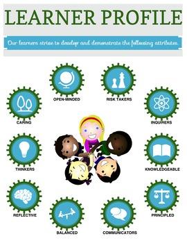 IB PYP Learner Profile Poster