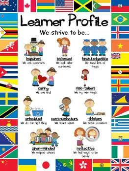 IB PYP Learner Profile Poster (A3/A4)