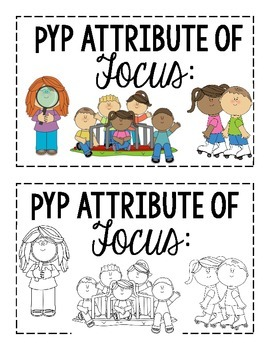 IB PYP Learner Profile Posters