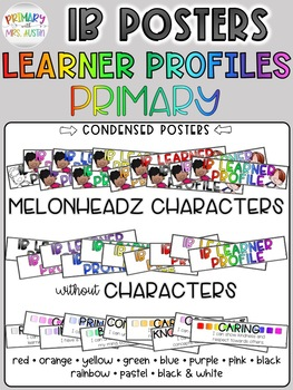 IB PYP Learner Profile Posters *Primary*