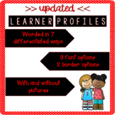 IB PYP Learner Profile Posters (UPDATED)