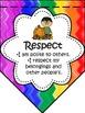 IB PYP Learner Profile and Attitudes Rainbow Bunting Display