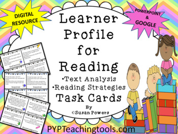 IB PYP Learner Profile for Literacy Task Cards