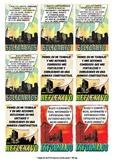 """IB PYP & MYP """"Super"""" Learner Profile Cards in Spanish for A4 Paper"""