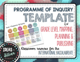 IB PYP Program of Inquiry Planner