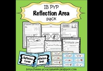 IB PYP Reflection Corner / Area Pack
