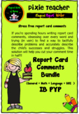 IB PYP -Report Card Comments ( Complete Set)
