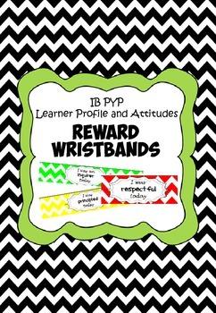 IB PYP Reward Wristbands