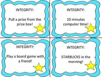 IB PYP Star Student Positive Behavior Reward System