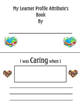 IB PYP Student Attribute Book