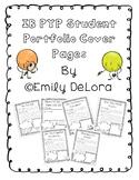IB PYP Student Portfolio Unit Covers