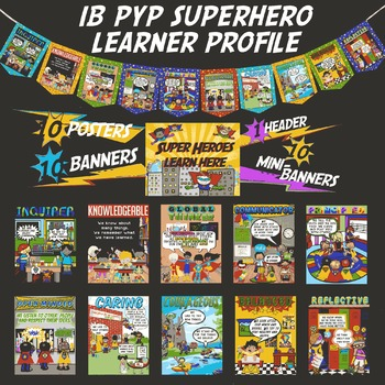 IB PYP Superhero Learner Profile
