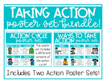 IB PYP Taking Action Poster Set BUNDLE