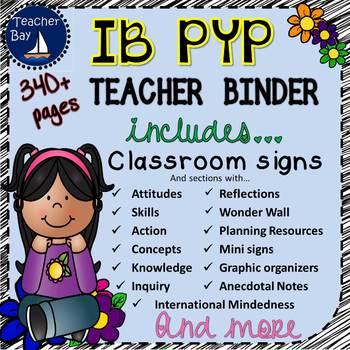IB PYP Teacher Binder