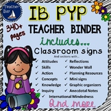 IB PYP Teacher Binder