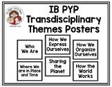 IB PYP Transdisciplinary Posters