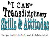 "IB PYP Transdisciplinary Skills & Attitudes ""I Can"" Statements"