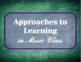 IB PYP Transdisciplinary Skills - For Music Classrooms!