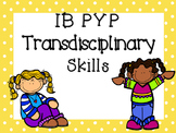IB PYP Transdisciplinary Skills - MULTICOLOUR POLKA DOT