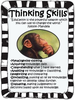 IB PYP Transdisciplinary Skills Posters with Authors' Quotes