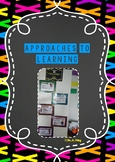 IB PYP Approaches to learning classroom set in rainbow theme