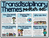 IB PYP Transdisciplinary Theme Poster Set