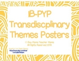 IB PYP Transdisciplinary Themes (Doodles) Posters