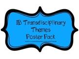 IB PYP Transdisciplinary Themes Poster Pack