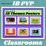 IB PYP The Transdisciplinary Themes Posters (ART THEME)