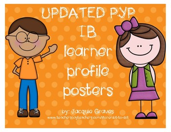 IB-PYP UPDATED learner profile posters
