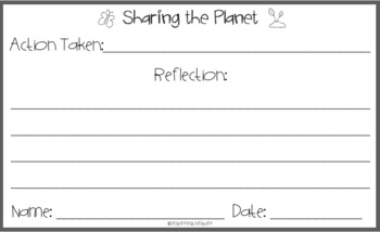 IB PYP Unit Reflection Student Action Cards