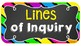 IB PYP Unit board tags / labels in chalkboard and bright/neon theme
