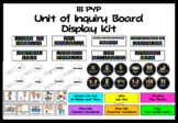 IB PYP Unit of Inquiry Bulletin Board Display Kit