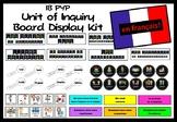 IB PYP Unit of Inquiry Bulletin Board Display Kit En Francais