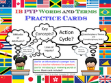 IB PYP Words and Terms Practice Cards