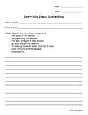 IB Portfolio Reflection Sheet