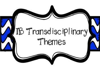 IB Poster BUNDLE (Themes, Concepts, Profiles, Attitudes) B