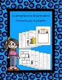 IB Program (primary) / Programme IB (primaire) - FRENCH - Portfolio