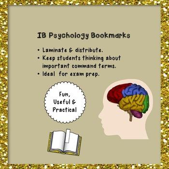 IB Psychology Bookmarks